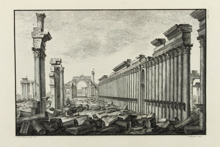 The Ruins of Palmyra, otherwise Tedmor, in the Desart. Robert WOOD, James DAWKINS.