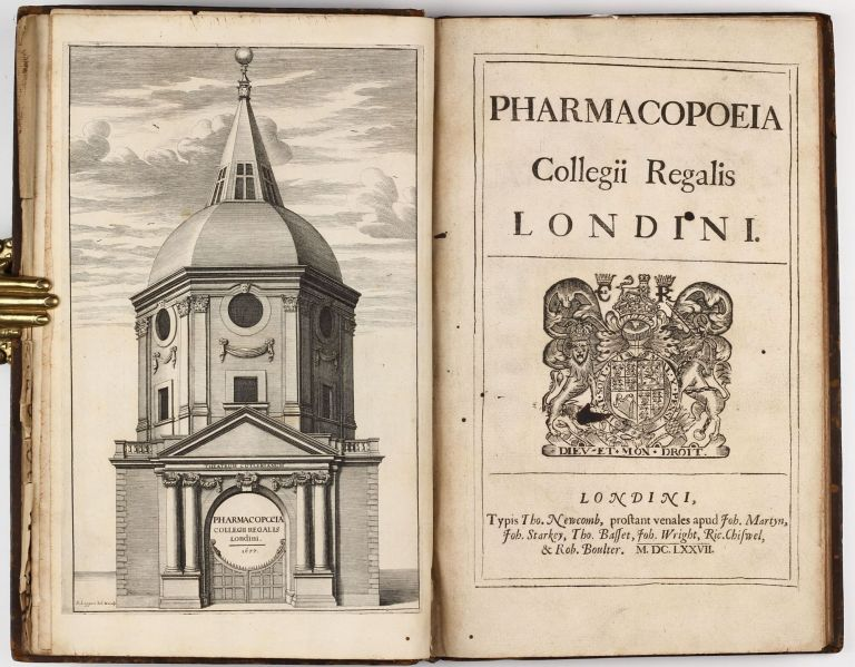 Pharmacopoeia Collegii Regalis Londini. ROYAL COLLEGE OF PHYSICIANS OF LONDON.