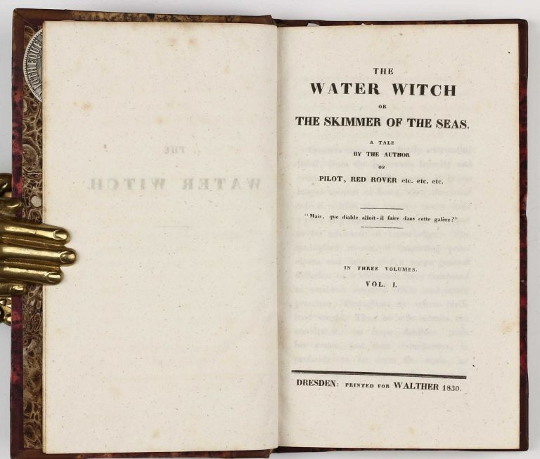 The Water-Witch or The Skimmer of the Seas. James Fenimore COOPER.