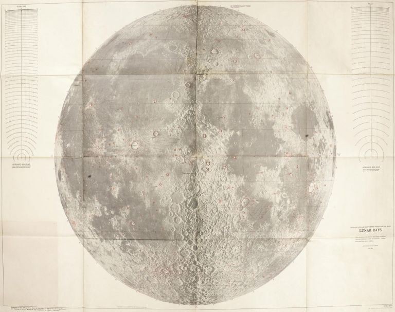 Engineer special study of the surface of the moon - Lunar Rays. Robert HACKMAN, Arnold MASON.