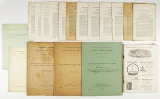 Extensive collection of 25 offprints and journal papers by John William Strutt and his eldest...