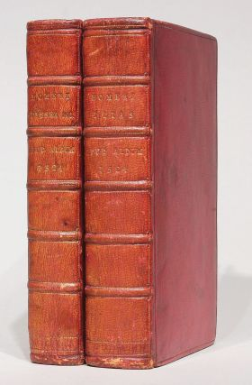 Works in Greek] Ilias and Ulyssea. Batrachomyomachia. Hymni XXXII, 2 volumes. HOMER