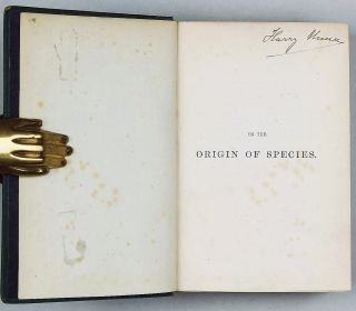 On The Origin of Species by Means of Natural Selection. Fifth Edition, Tenth thousand.