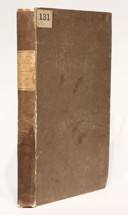 Meteorological Observations and Essays. John DALTON