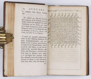 Travels into several remote nations of the world: in four parts, by Lemuel Gulliver, First a Surgeon, and then a Captain of several Ships. 4 parts bound in 2 volumes.
