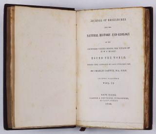 Journal of Researches into Natural History and Geology of the Countries during the Voyage of H. M. S. Beagle round the World under the Command of Capt. Fitz Roy, R. N.