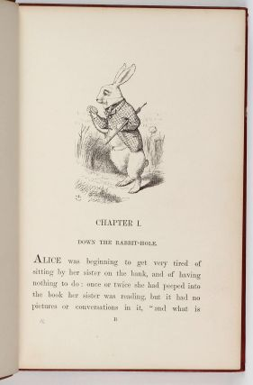 Alice's Adventures in Wonderland.