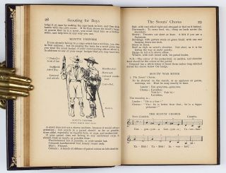 Scouting for Boys: A handbook for instruction in good citizenship. Complete edition, revised and illustrated.