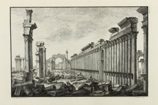 The Ruins of Palmyra, otherwise Tedmor, in the Desart. Robert WOOD, James DAWKINS