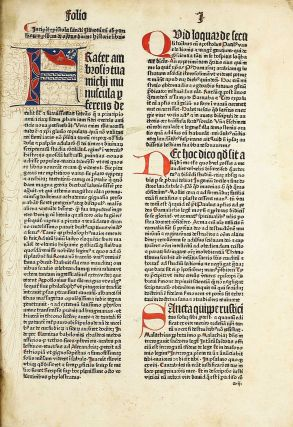 Conrad Winters bible, with additions by Menardus Monachus. BIBLIA LATINA.