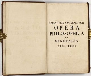 Opera philosophica et mineralia. Volumes I-III (all published).