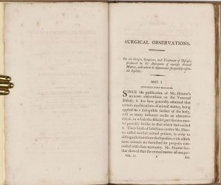 Surgical Observations on Diseases Resembling Syphilis; and on Diseases of the Urethra.