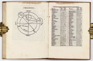 Tabulae astronomicae - Johannes DANCK (fl. first half 14th century). Canones in tabulas Alphonsi.