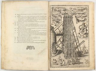 Della trasportatione dell'obelisco Vaticano et delle fabriche di Nostro Signore Papa Sisto V. With the very rare 2 engravings by Girolamo Rainaldi in first state