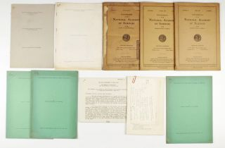 A collection of 10 offprints, journal issues, manuscripts and notes by Ernest O. Lawrence (Nobel Prize 1939) and co-workers, published between 1925 and 1941