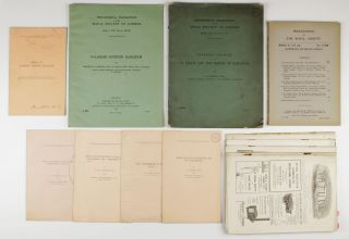 A collection of 13 offprints and journal issues by Charles G. Barkla (Nobel Prize 1917),...