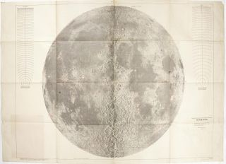 Engineer special study of the surface of the moon - Lunar Rays