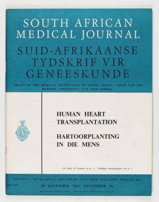 A human cardiac transplant: The interim report of a successful operation performed at Groote...