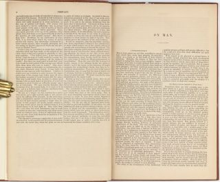 A Treatise on Man and the development of his faculties; now first translated into English.