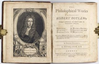 The philosophical works of the Honourable Robert Boyle Esq : in three volumes / abridged,...
