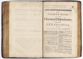 The Compleat Chymical Dispensatory, in five books, treating of all sorts of metals, precious stones, and minerals, of all vegetables and animals, and things that are taken from them, as musk, civet, &c. How rightly to know them, and how they are to be used in Physick; with their several Doses . . . being very proper for all merchants, druggists, Chirurgions, and Apothecaries, Englished by William Rowland.