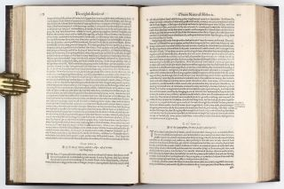 The Historie of the World. Commonly Called, the Naturall Historie of C. Plinius Secundus. Translated into English by Philemon Holland.