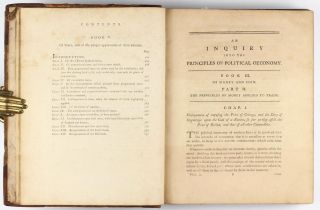 An inquiry into the principles of political oeconomy: being an essay on the science of domestic policy in free nations.